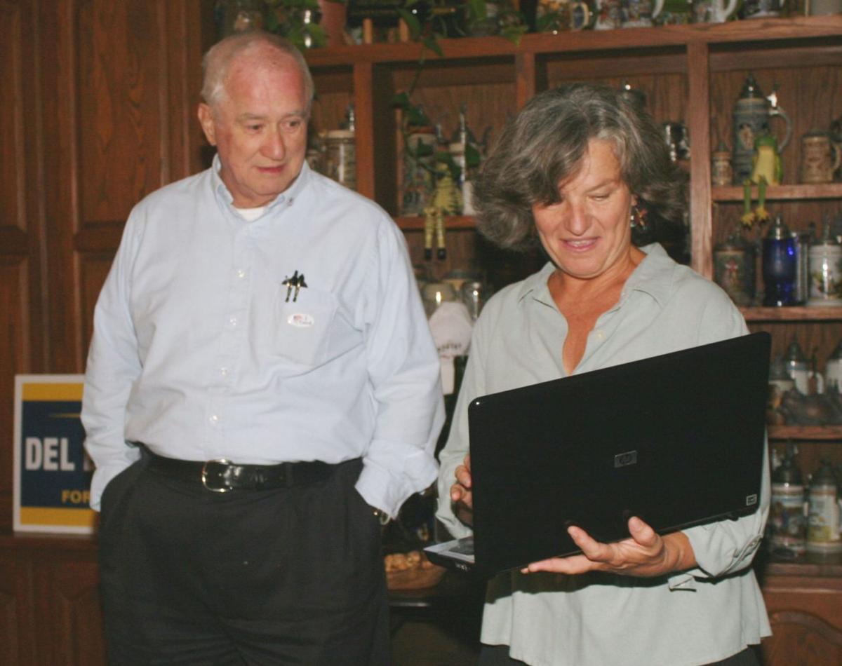 Del Britton and Marielle Coeytaux-Britton, November 2012