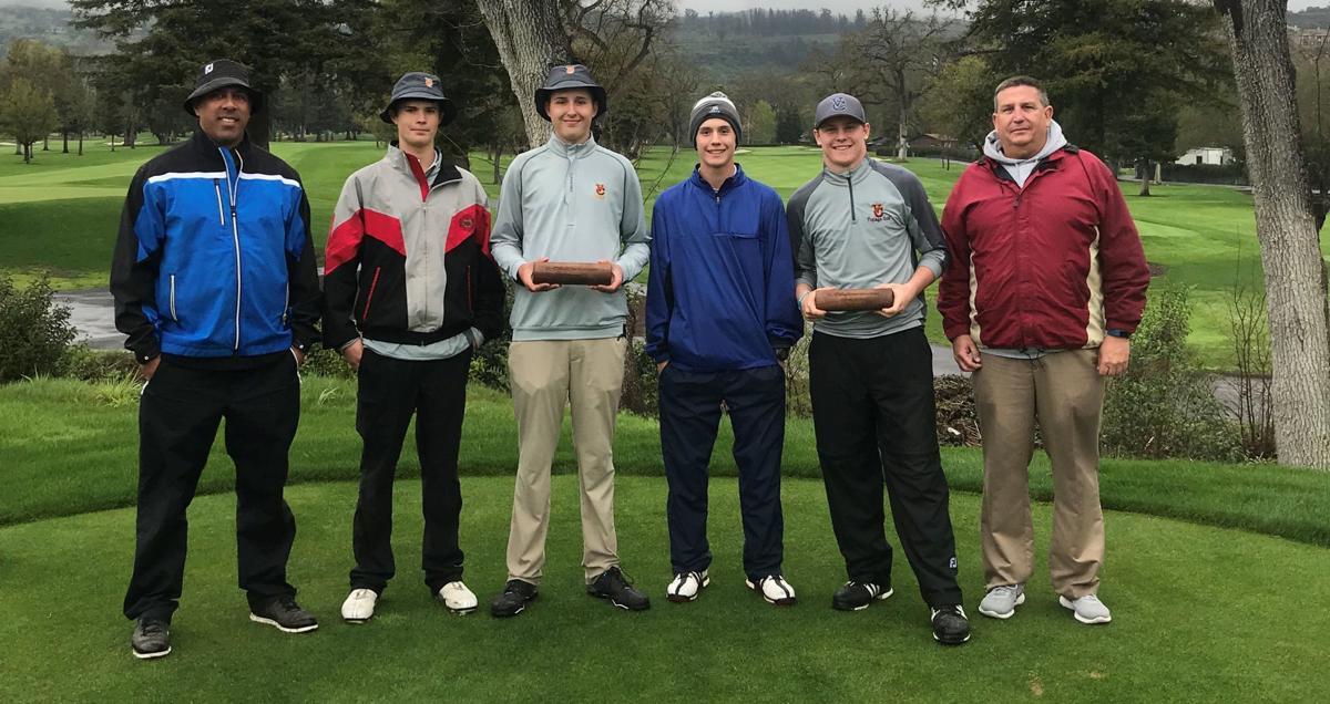 Vintage High boys golf team