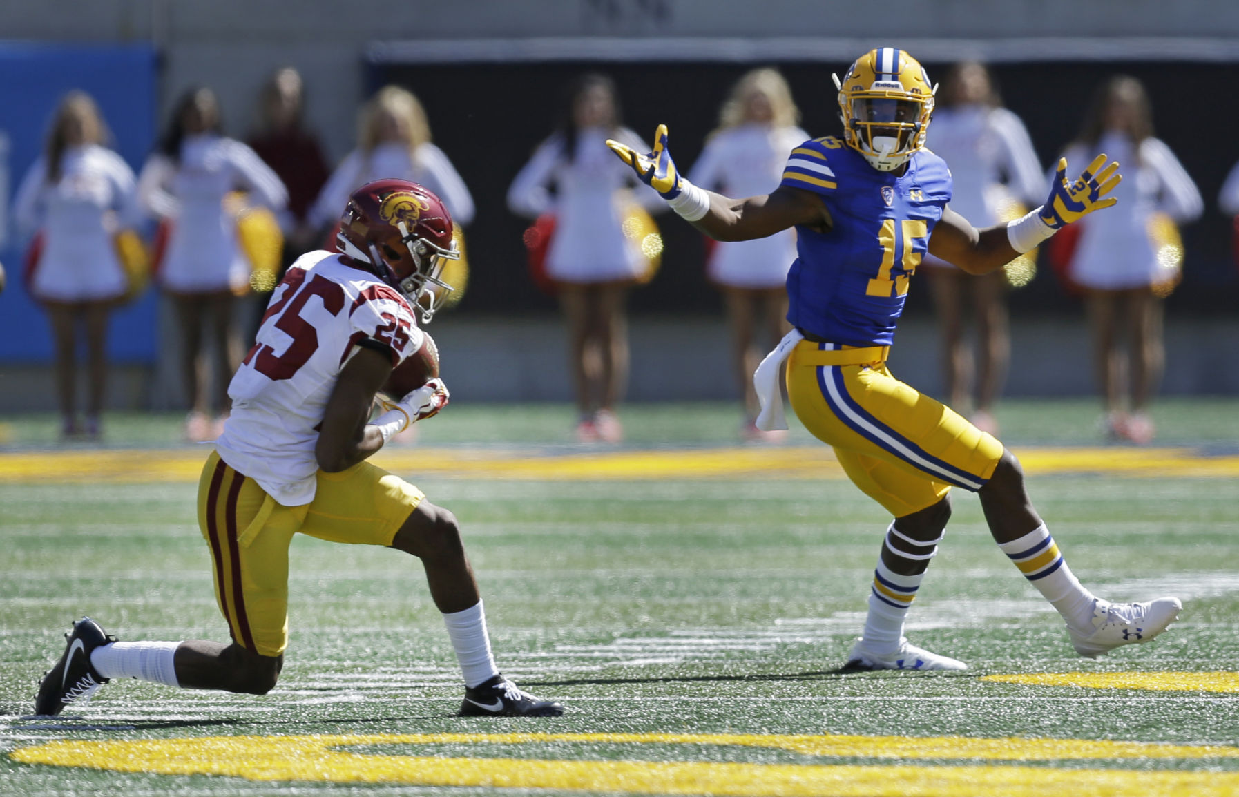 USC football surges late, tops Cal in road opener