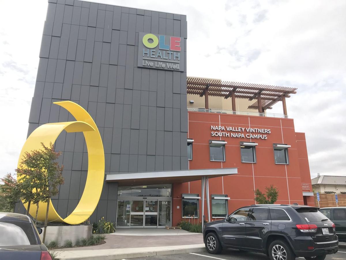 OLE Health's new south Napa campus.