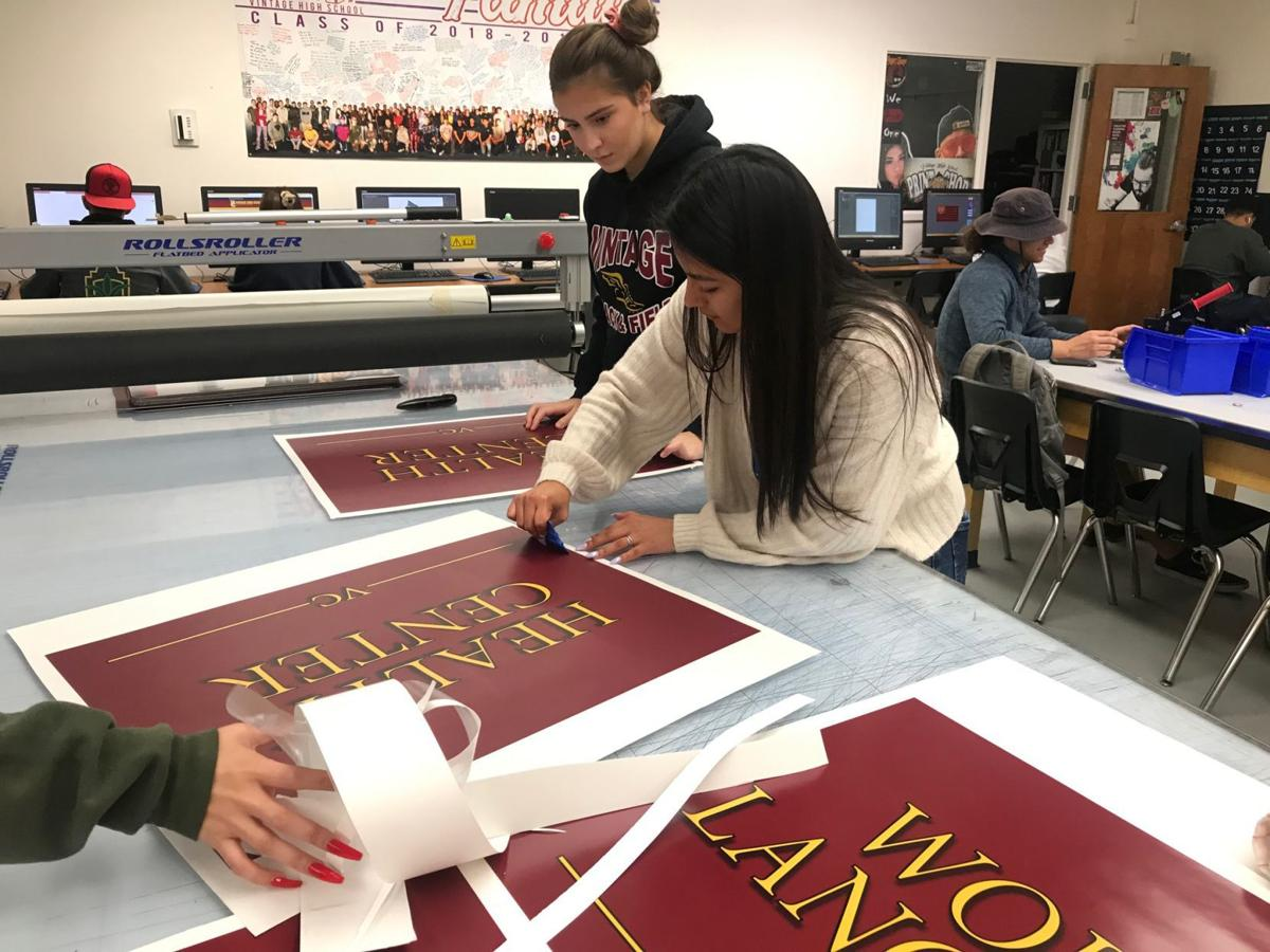 Print Shop at Vintage High School