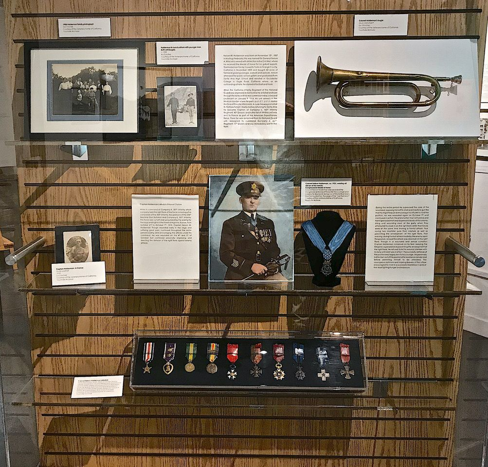 Vets Home exhibit
