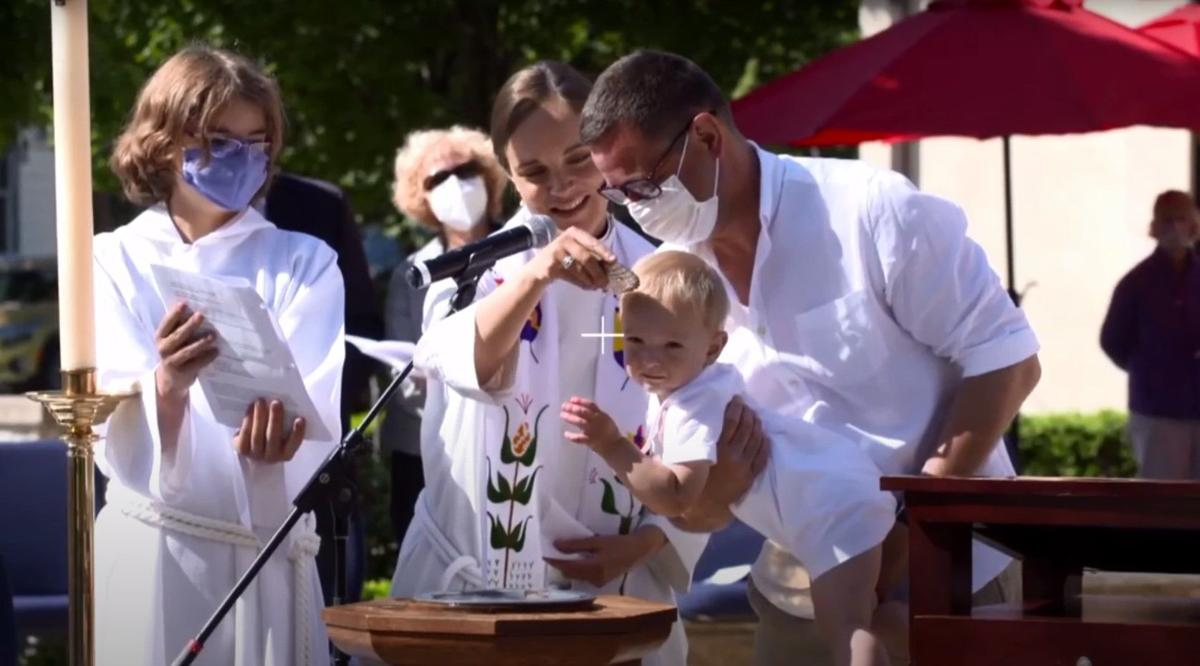 Baptism at Grace Episcopal Church