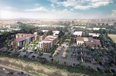 Marriott hotel planned for south Napa