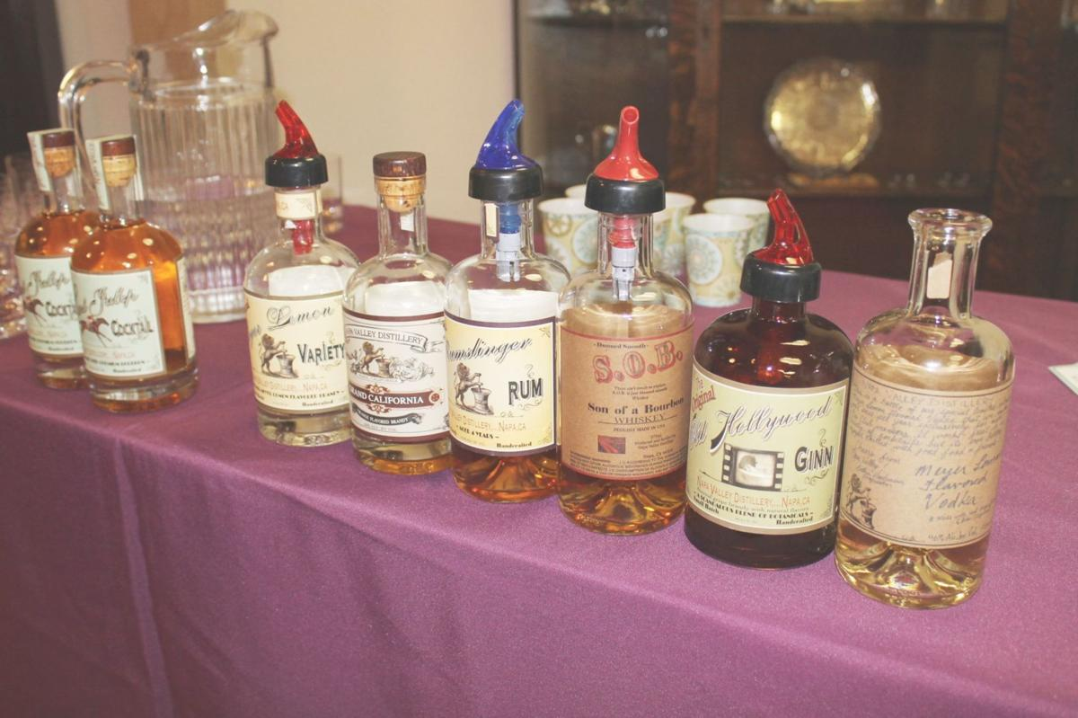 Spirits tasting