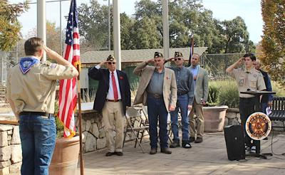 Calistoga Veterans Day 2019