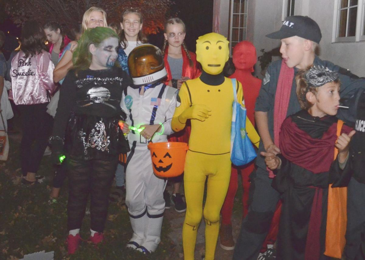 Line forms at Hudson Avenue haunted house