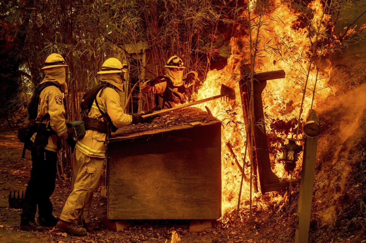 Glass Fire in Napa County