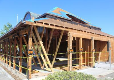 Work underway on future Chase Bank in St. Helena