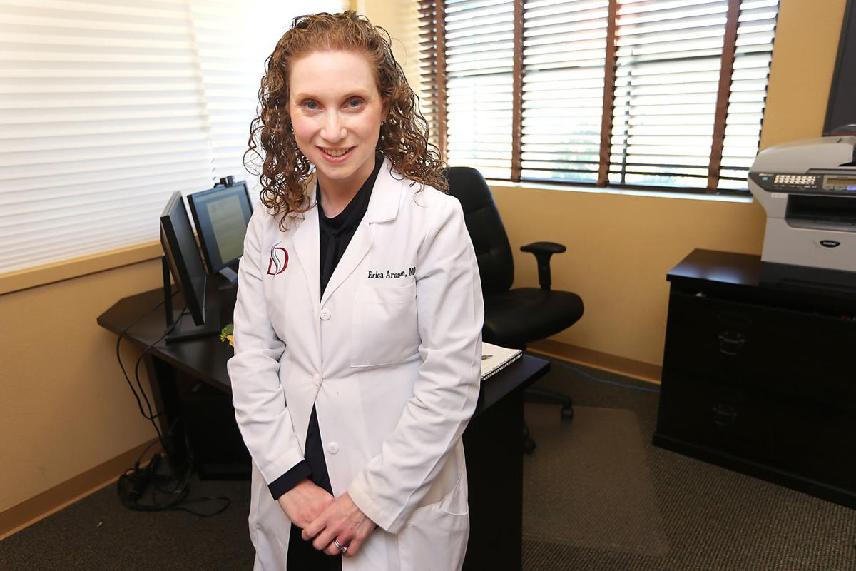 Doctor goes more than skin deep napa valley register 10 for Aronson associates