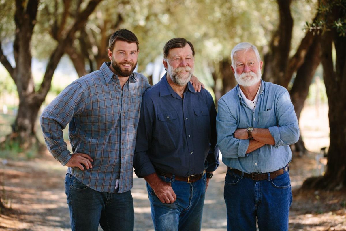 Sam, Stu and Charles Smith