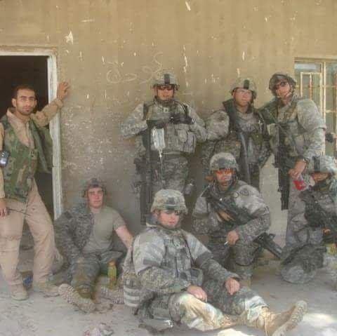 LJ Montelli in Iraq