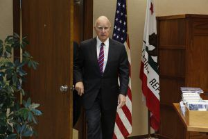 Gov. Jerry Brown traverses Europe on a climate 'crusade'