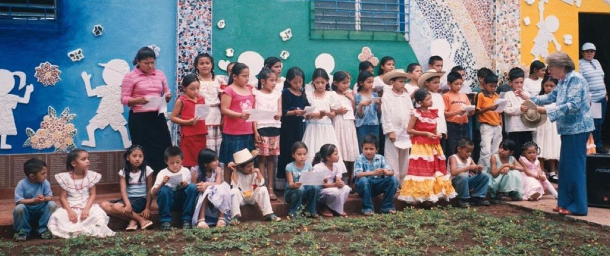 Children's Garden, El Mozote, El Salvador
