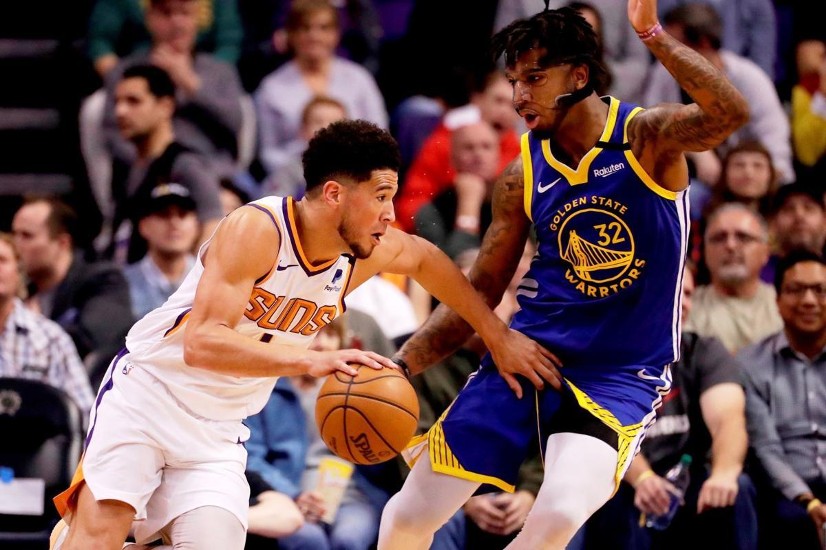 Warriors Suns Basketball