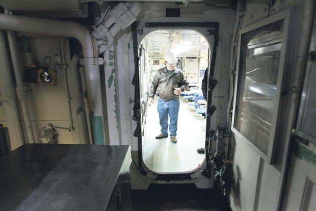 One man's journey to save Napa-made warship