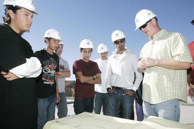 Student job shadowing shines light on construction   Local News ...