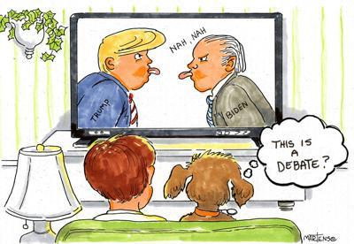 Joan Martens' cartoon