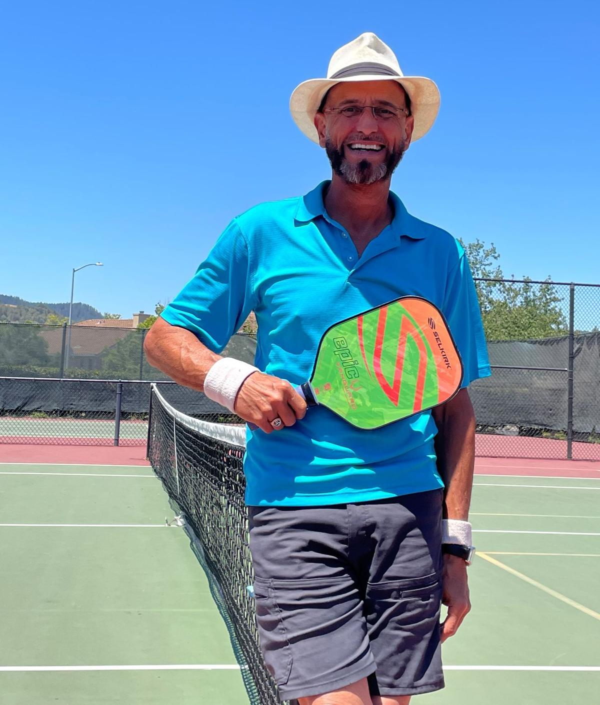 Charles Zook of the Napa Valley Pickleball Association
