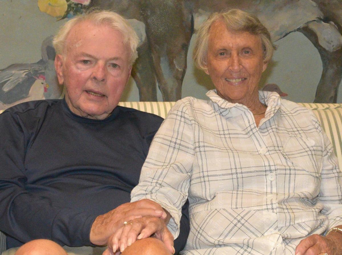 Vineyard Valley residents Karl and Marilyn Mosher