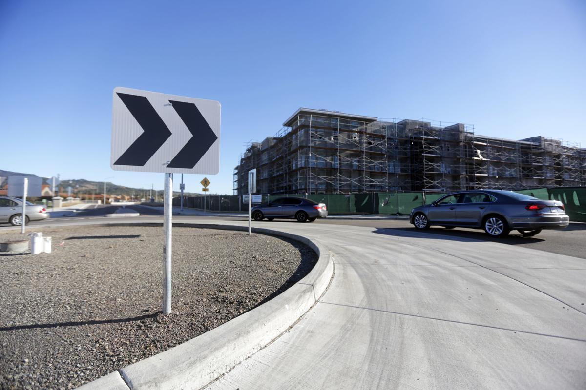 Napa opens new streets and bridge into Gasser development