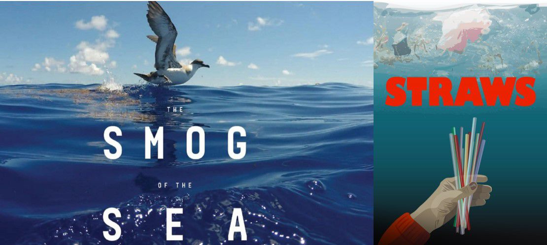 Smog of the Sea and STRAWS posters