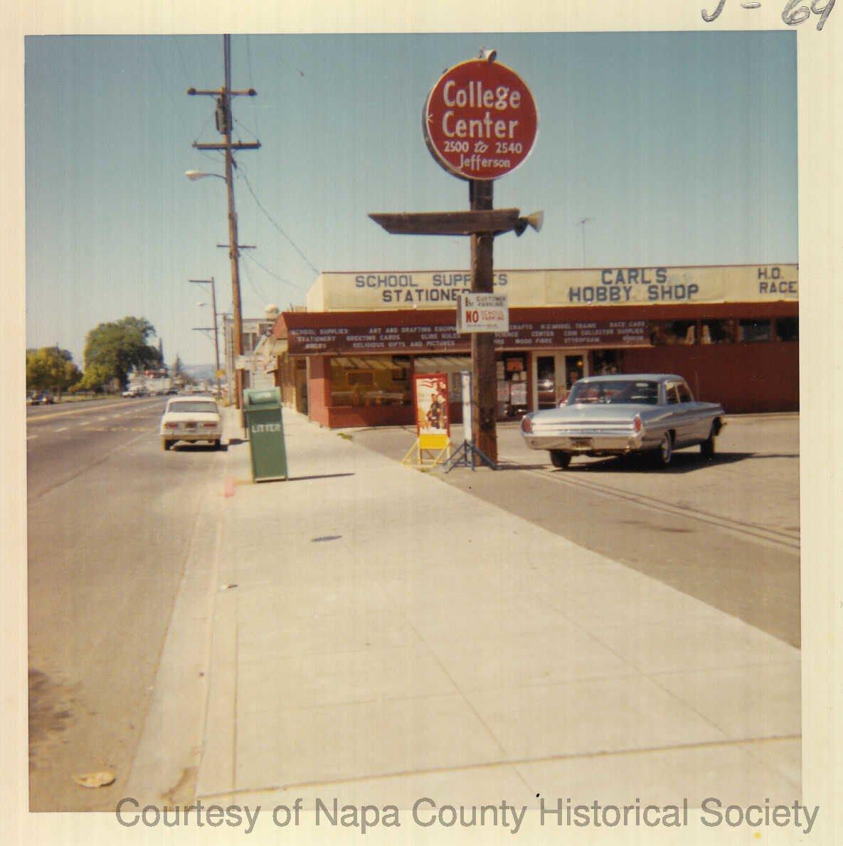 Flashback: Jefferson Street Napa 1966