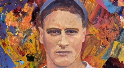 Baseball, art and giving back: A Napa Valley artist's portrait of Lou Gehrig will launch a fundraising drive for ALS research