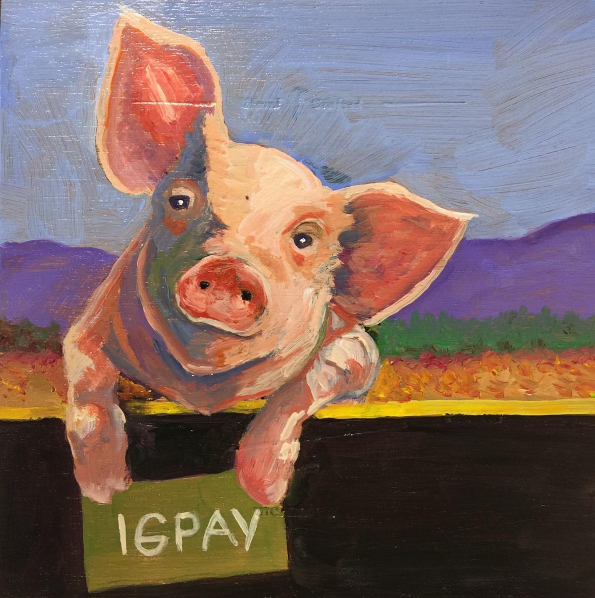 pig latin cigar box