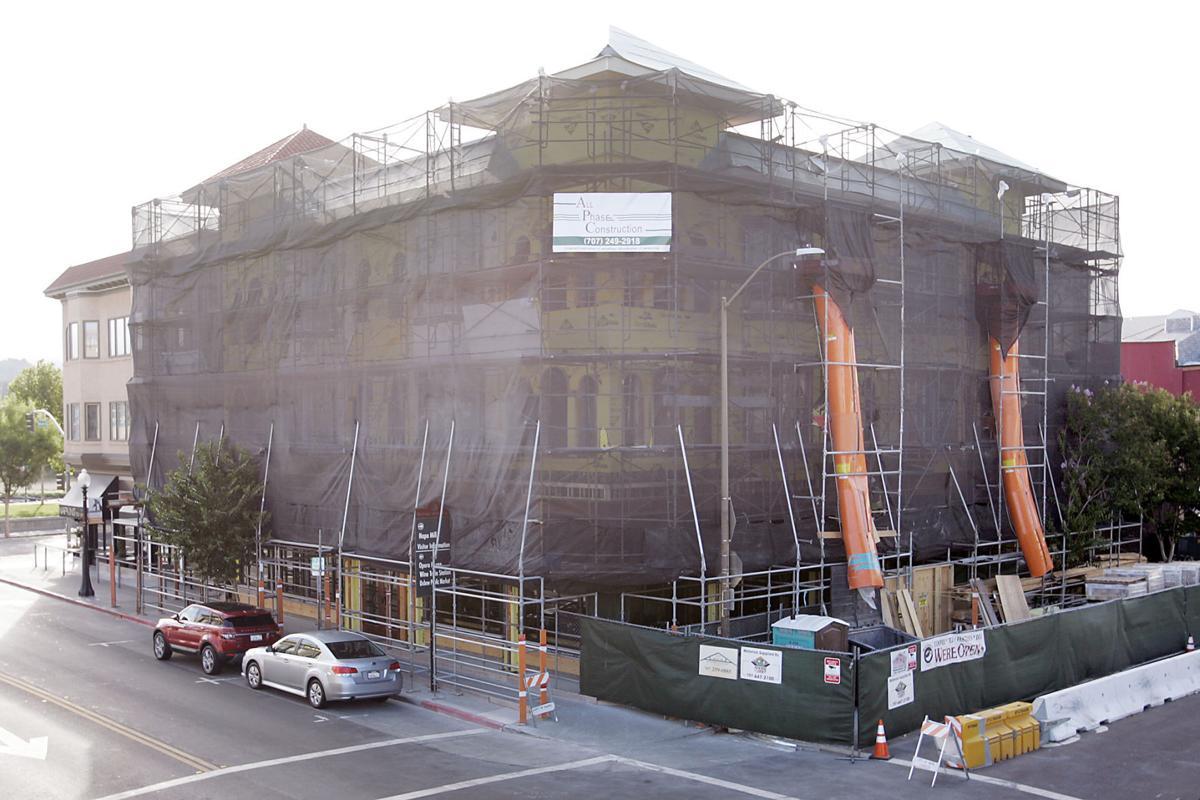 Alexandria Square Building Repairs