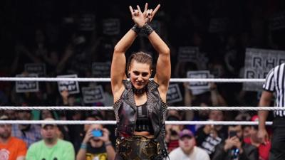 WWE's Rhea Ripley Is Ready for Hard-Hitting Match Against Charlotte Flair at 'WrestleMania' 36