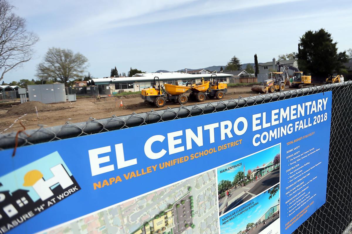 El Centro Elementary School Construction