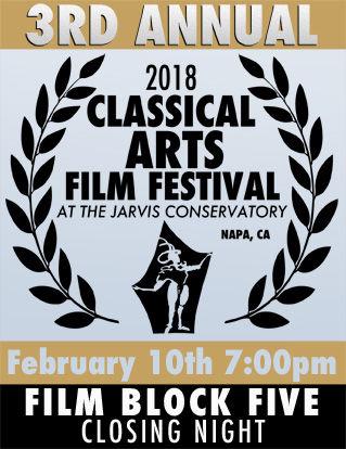 Classical Arts Film Festival - Block 5:  Festival In Closing