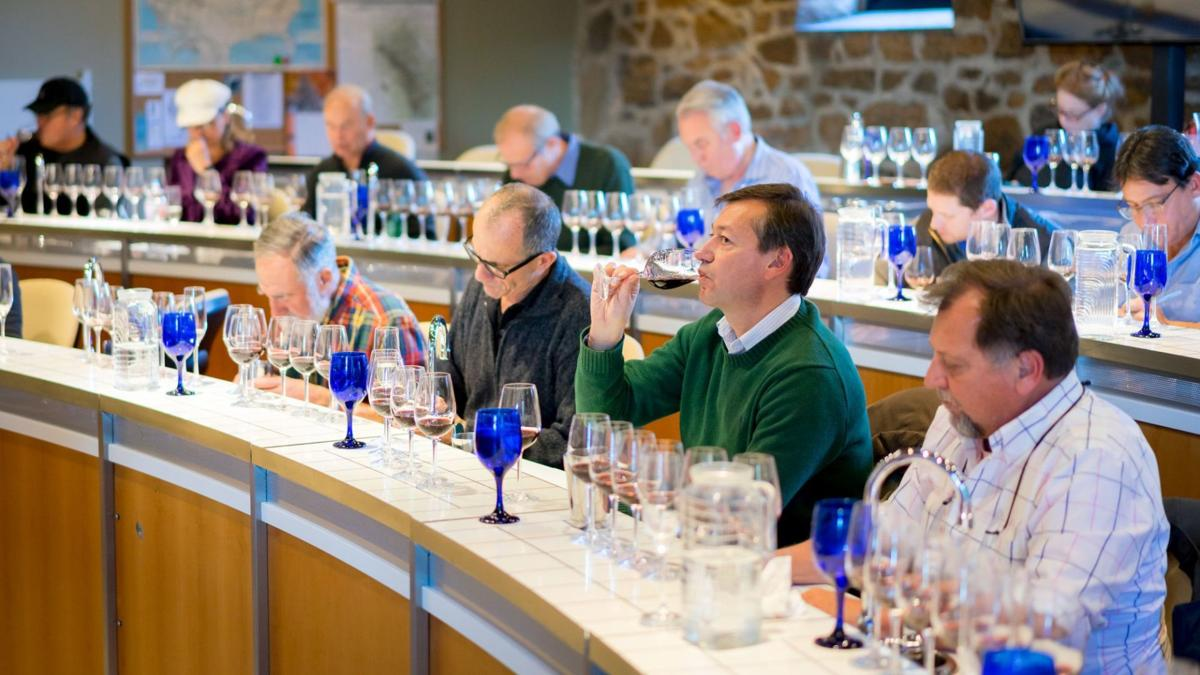 Star/NVV tasting at the Culinary Institute of America, Greystone