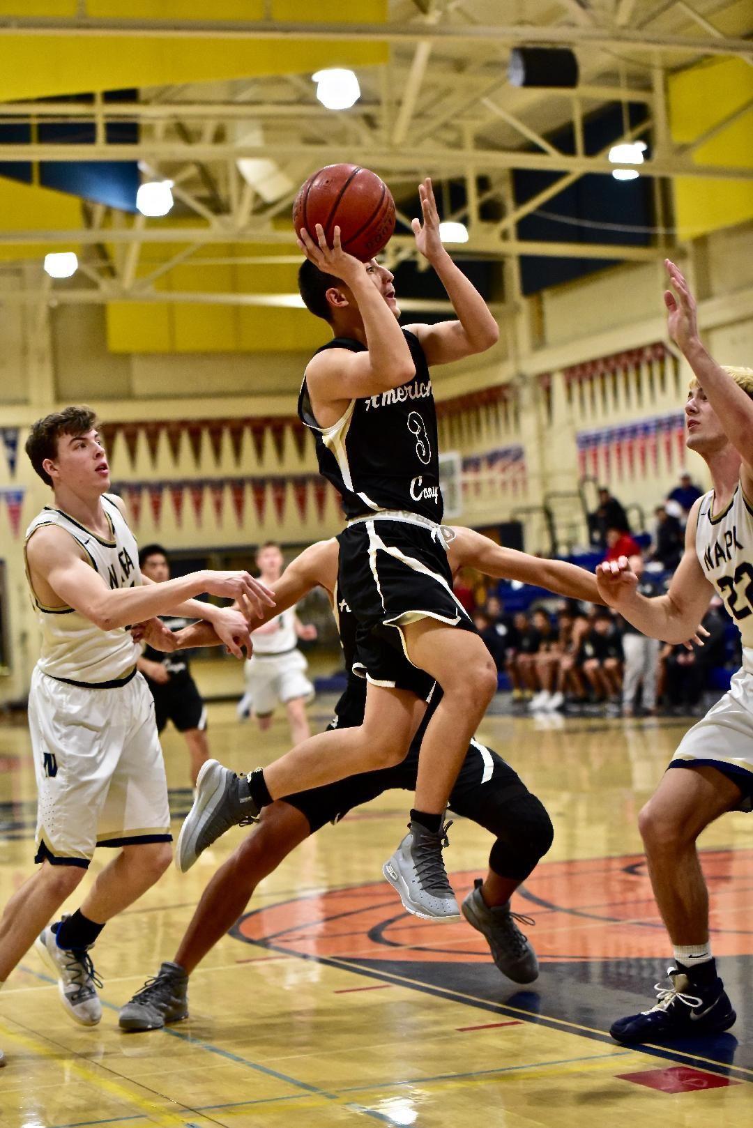 American Canyon at Napa High boys basketball