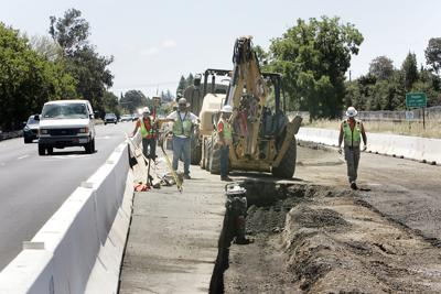 Highway 29 Median Construction