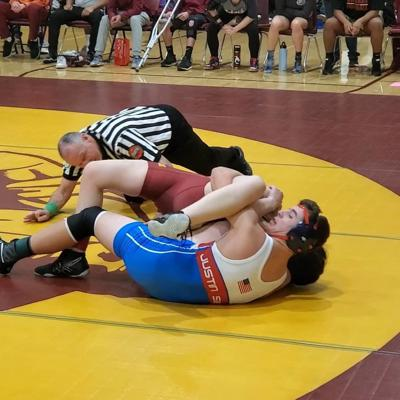 Justin-Siena at Vintage wrestling