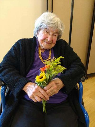 Scriven celebrates 107th Birthday