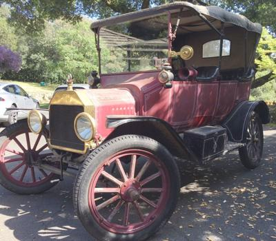 1915 Ford Model T in Sonoma, California