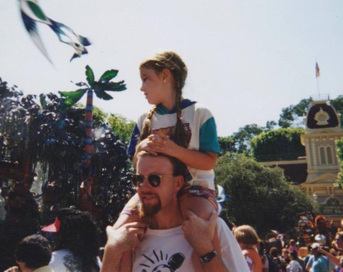 Me and Rhian at Disneyland