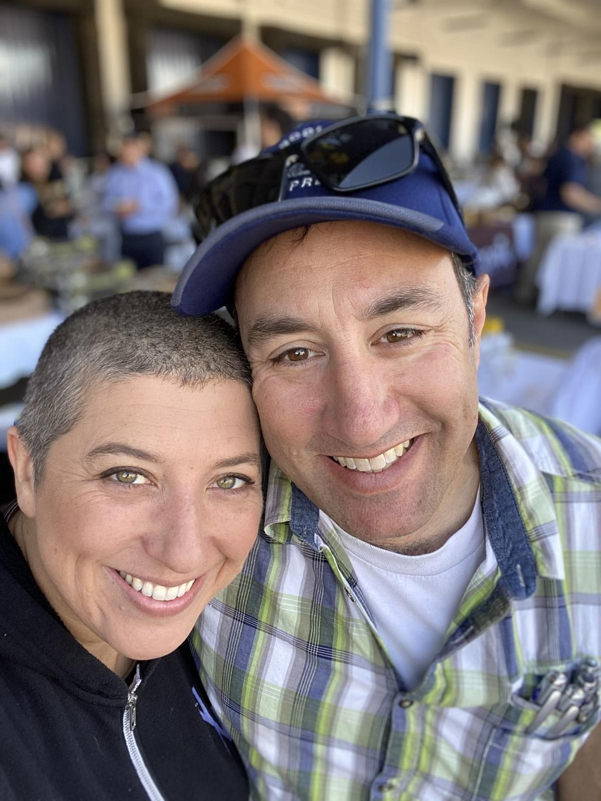 Siblings Bonnie and Schecky Miluso run Napa Nuts.