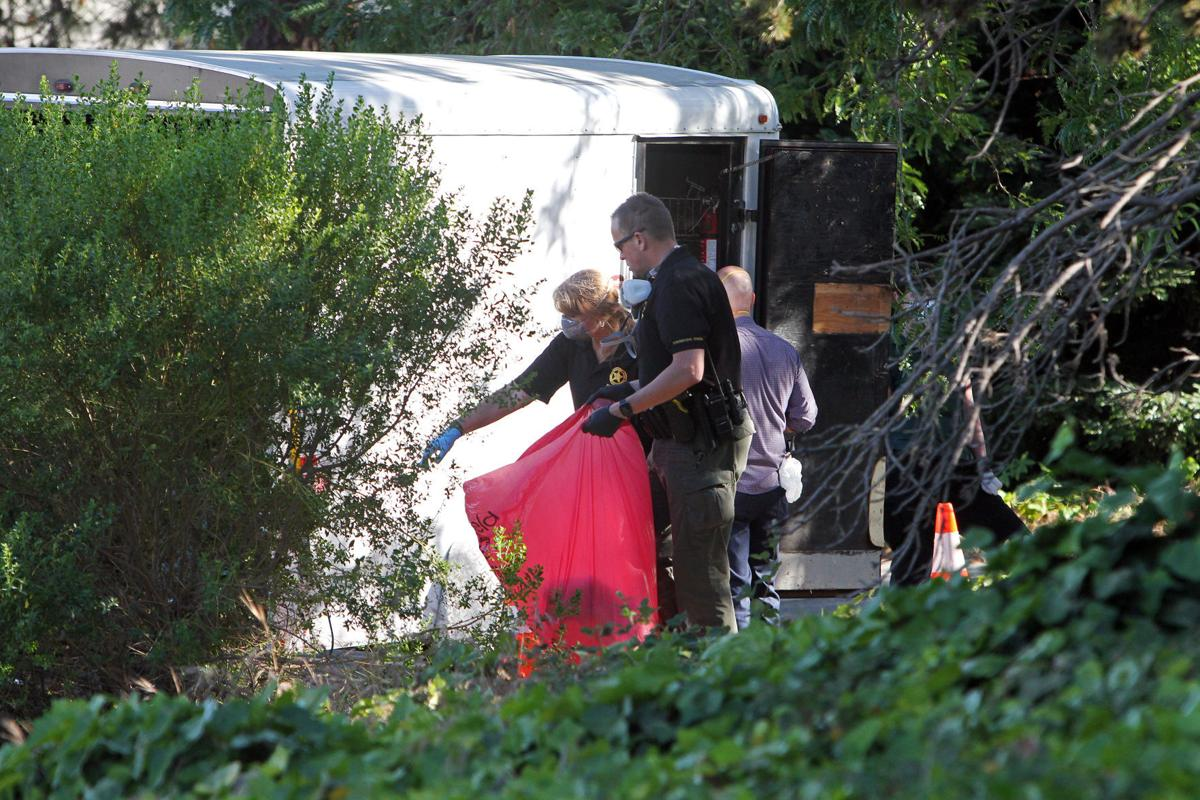 Body found in trailer on Napa street