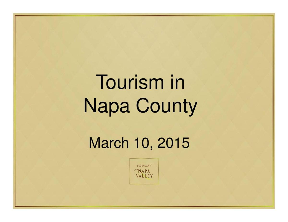 Tourism in Napa County