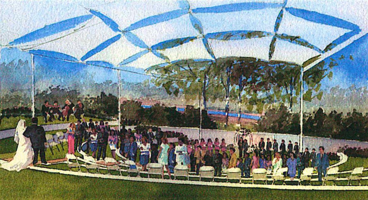 Amphitheater, CIA at Copia