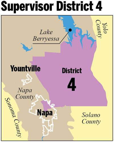 Supervisor District 4 map