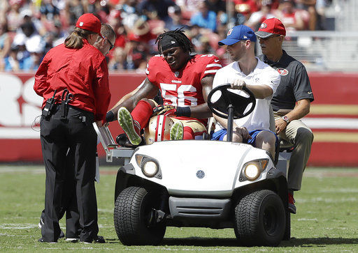 Shanahan: Foster could miss time with high ankle sprain