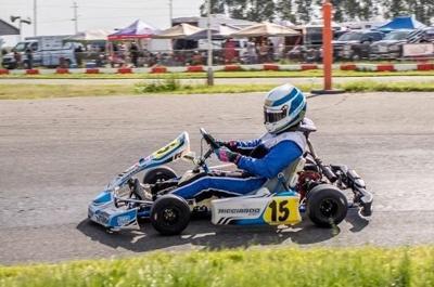 Go Karts Reno >> Kart Racing Third In Points Napa High Senior Toscano In Finale