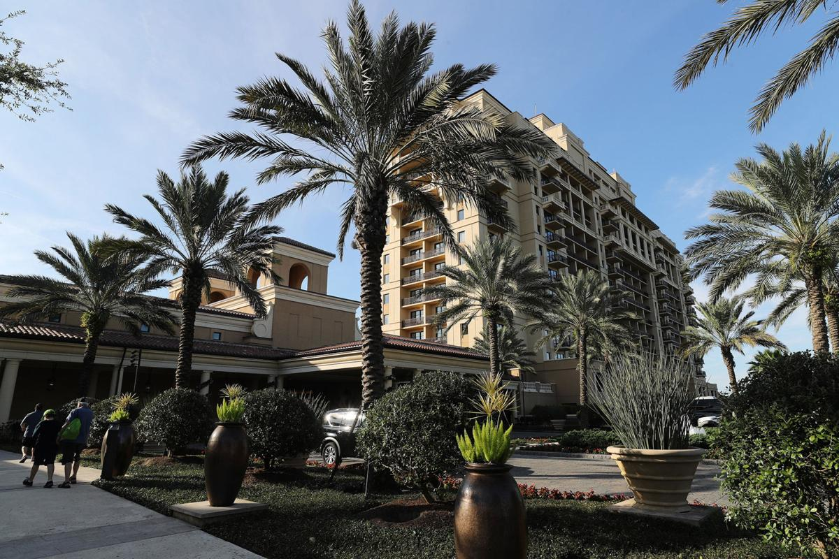 The Four Seasons Resort Orlando at Walt Disney World, on Januay 2, 2020. The hotel is the only Orlando, Fla., facility to receive AAA's Five Diamond rating.