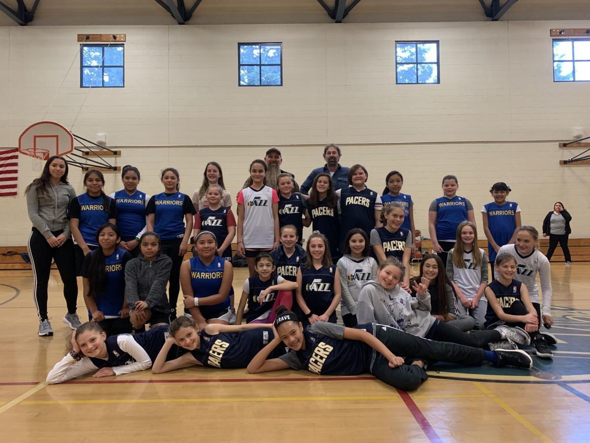 U12 Upvalley girls basketball