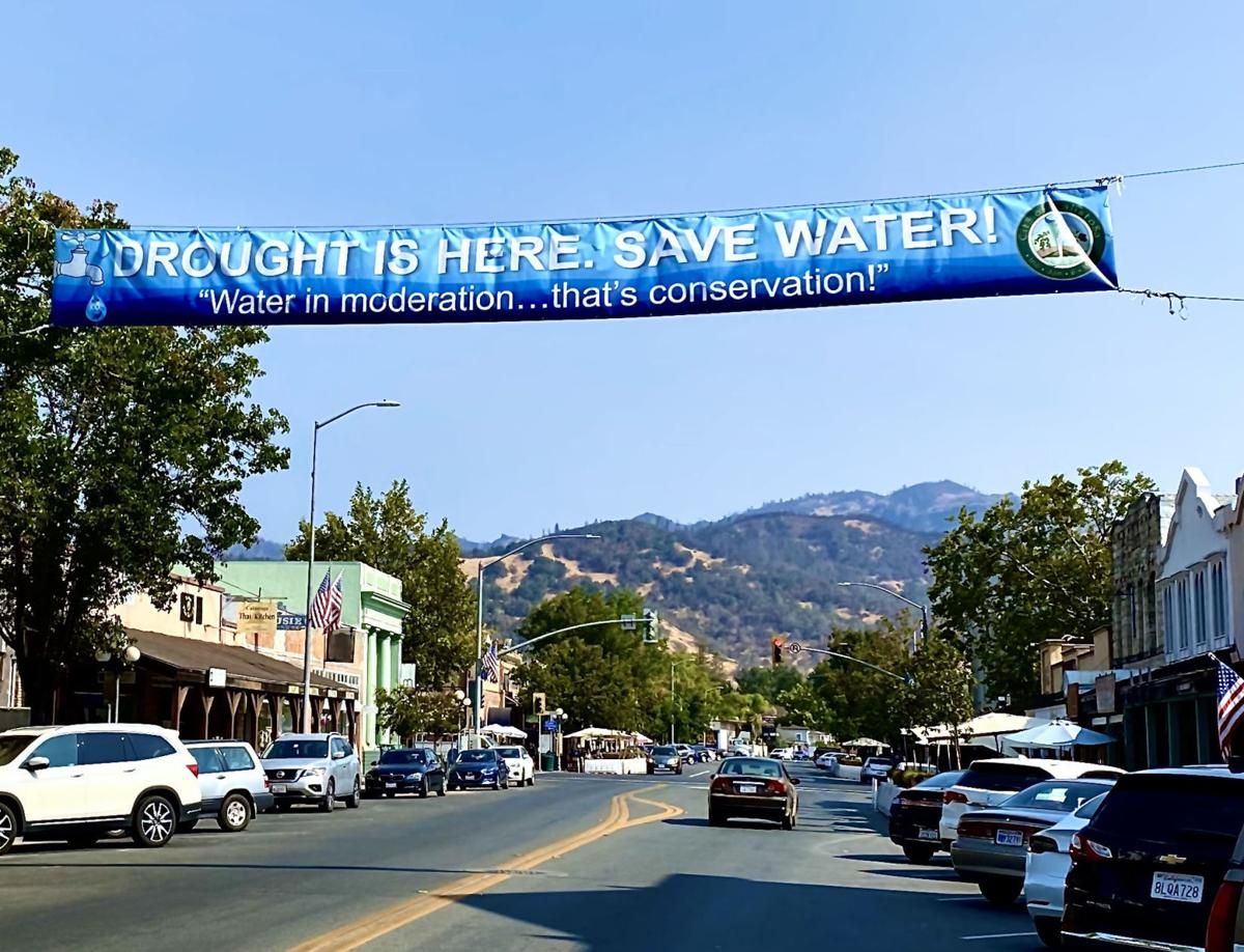Calistoga water conservation
